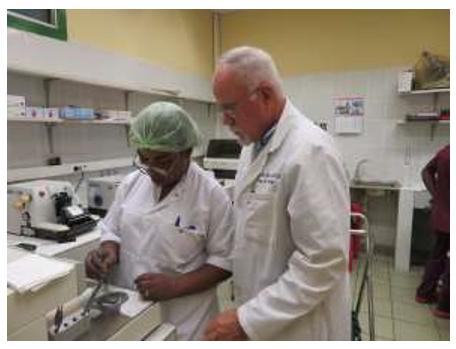 Serviços de Patologia e Histologia em Desenvolvimento no Hospital Biamba Marie Mutombo (HBMM), Kinshasa, República Democrática do Congo (RDC) 4